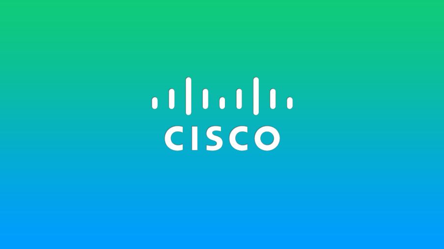logo cisco fond bleu
